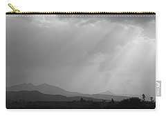 Skc 4928 Blessings Are Showering Carry-all Pouch by Sunil Kapadia
