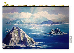Skelligs Ireland Carry-all Pouch by Paul Weerasekera