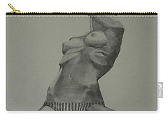 Sketch For Harry Carry-all Pouch by Ray Agius