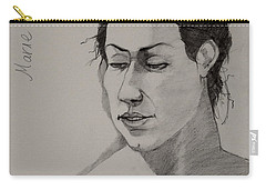 Sketch For Marie 2 Carry-all Pouch by Ray Agius