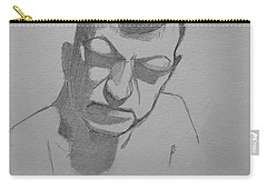 Sketch For Rik Carry-all Pouch by Ray Agius