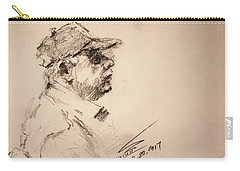 Sketch Man 19 Carry-all Pouch
