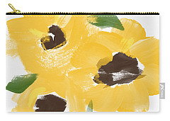 Sketchbook Sunflowers- Art By Linda Woods Carry-all Pouch