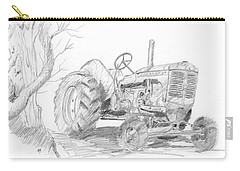 Sketchy Tractor Carry-all Pouch