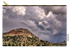 Skies Over Montana Carry-all Pouch by Gina Savage