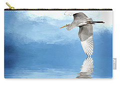 Skimming Carry-all Pouch by Cyndy Doty