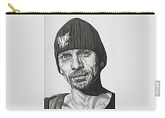 Skinny Pete  Breaking Bad Carry-all Pouch by Fred Larucci