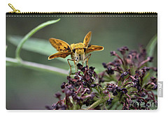 Carry-all Pouch featuring the photograph Skipper II by Douglas Stucky