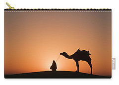 Skn 0893 Halo Of Sunrise Carry-all Pouch