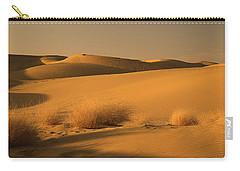 Skn 1124 The Desert Landscape Carry-all Pouch by Sunil Kapadia