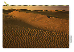 Skn 1127 The Golden Dunes Carry-all Pouch