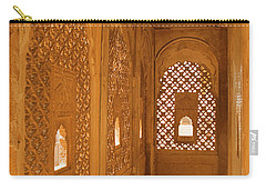 Skn 1241 Carved Niche Carry-all Pouch by Sunil Kapadia