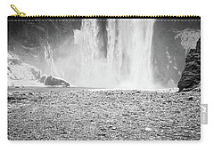 Skogafoss In Winter Carry-all Pouch
