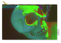 Skull And Spells Carry-all Pouch