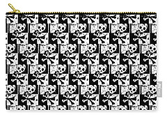 Skull Checker Carry-all Pouch