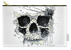 Skull Carry-all Pouch by Edwin Alverio