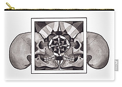 Skull Mandala Series Nr 1 Carry-all Pouch