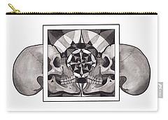 Skull Mandala Series Nr 1 Carry-all Pouch