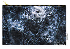 Skulls Tangled In Fear Carry-all Pouch