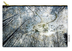Skully Dreams Of Beach And Trees Carry-all Pouch by Ronda Broatch