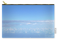 Carry-all Pouch featuring the photograph sky and clouds M1 by Francesca Mackenney