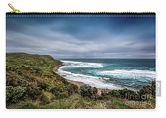 Carry-all Pouch featuring the photograph Sky Blue Coast by Perry Webster