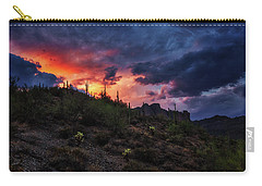 Carry-all Pouch featuring the photograph Sky Candy by Rick Furmanek