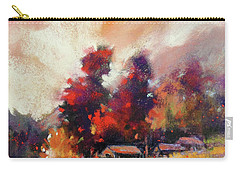 Sky Fall Carry-all Pouch by Rae Andrews