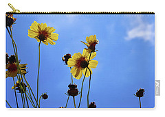 Sky Flowers Carry-all Pouch