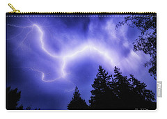 Sky Lightning Carry-all Pouch