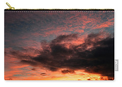 Carry-all Pouch featuring the photograph Sky Moods - Chasing The Midnight Sun by Glenn McCarthy Art and Photography