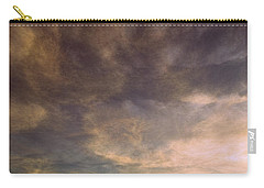 Carry-all Pouch featuring the photograph Sky Moods - Dynamics by Glenn McCarthy