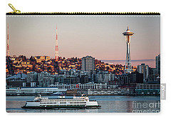 Space Needle.seattle,washington Carry-all Pouch