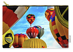 Sky Of Balloons Carry-all Pouch by Gina Savage