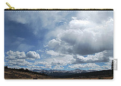 Carry-all Pouch featuring the photograph Sky Of Shrine Ridge Trail by Amee Cave