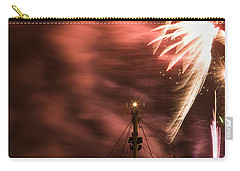 Carry-all Pouch featuring the photograph Sky On Fire by Ian Middleton