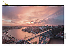 Carry-all Pouch featuring the photograph Sky Pierce by Bruno Rosa