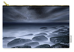 Carry-all Pouch featuring the photograph Sky Spirits by Jorge Maia