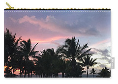 Sky With Palm Trees Carry-all Pouch