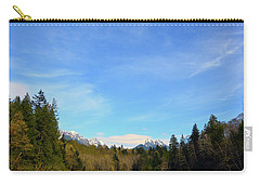 Skykomish River And Persis Carry-all Pouch