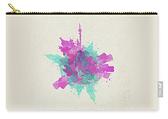 Skyround Art Of Moscow, Russia Carry-all Pouch