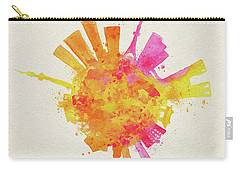 Skyround Art Of Tokyo, Japan  Carry-all Pouch