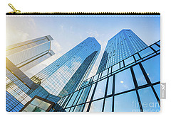 Skyscrapers Carry-all Pouch by JR Photography