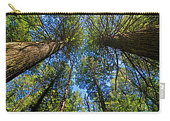 Carry-all Pouch featuring the photograph Skyward by Gary Lengyel