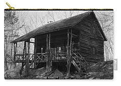Carry-all Pouch featuring the photograph Slabsides In Spring by Jeff Severson