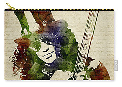 Slash Watercolor Carry-all Pouch