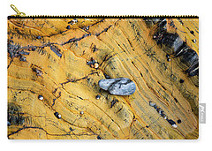 Slate Cobble On Rock Carry-all Pouch