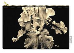 Sleek Sepia Iris Carry-all Pouch