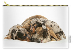 Sleep In Camouflage Carry-all Pouch