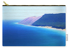 Sleeping Bear Dunes Barn Wood Carry-all Pouch by Dan Sproul